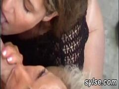 Genial amorous video category amateur (722 sec). Horny Teen and milf with workers.