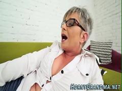 Full video category mature (375 sec). Bj loving grandma facial.