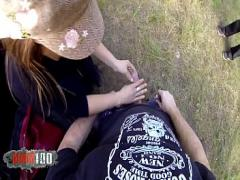 Good sexual video category cumshot (1162 sec). Hot latina MILF Peeing on cock and outdoor hardcore fucking.