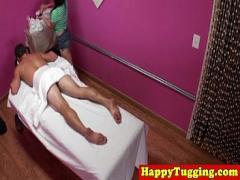 Full film category massage (480 sec). Real jap masseur enjoying cock ride.