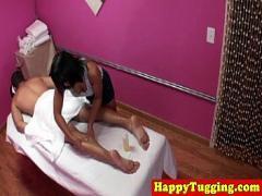Sex movie category massage (480 sec). Real vietnamese masseuse jerks customer.