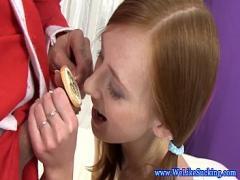 Download tube video category bukkake (480 sec). Ginger bj teen licking up some cum.